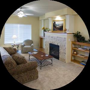 inside of home, den/ family room