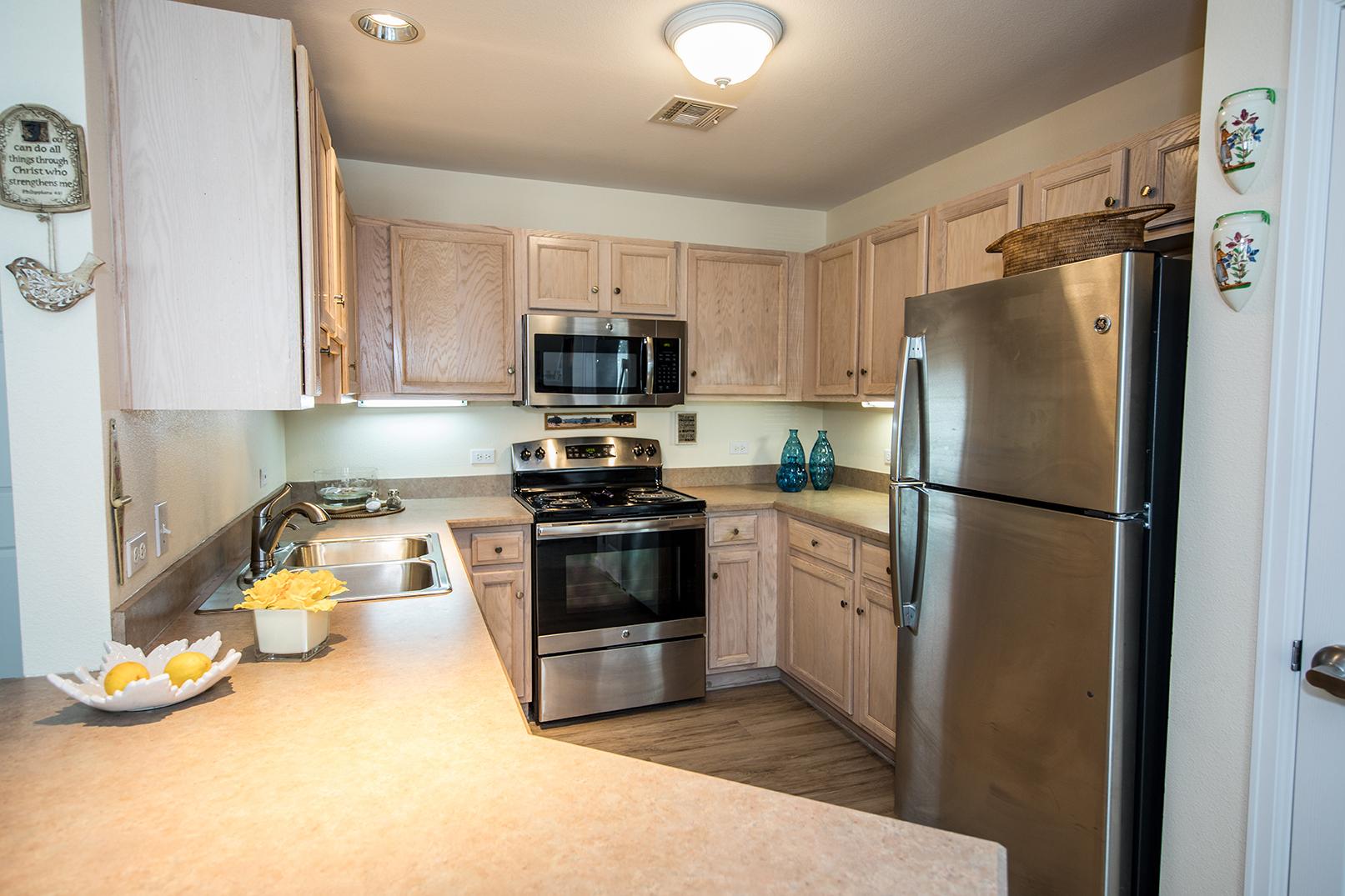 apt kitchen interior